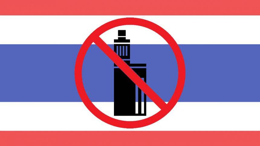 No vape Thaïlande